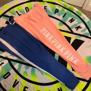 Victoria secret pink skinny joggers large